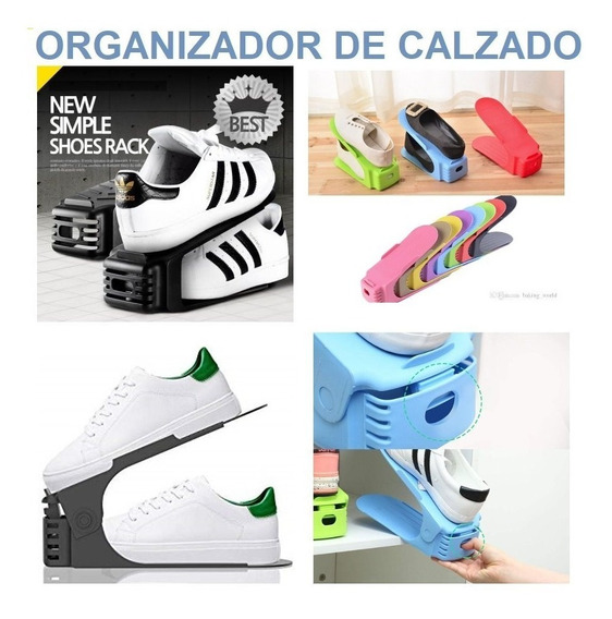 Organizador De Zapatos Ajustable - Shoe Slotz