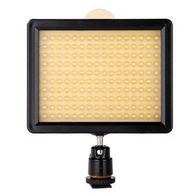 Iluminador De Led Cn 160 P/ Dslr 5d, 7d, 60d, T3i, Nx5