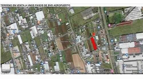 Terreno En Venta Cerca Bvd Aeropuerto Miguel Alemán