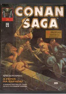 Hq Conan Saga Coleção Nº 01,02,05,06,09,11 (465)