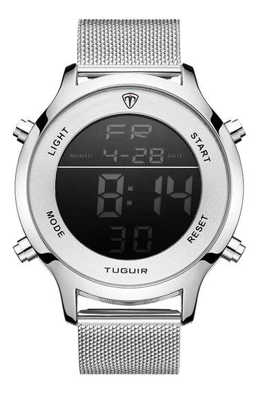 Relógio Digital Tuguir Original Com Garantia E Nota Fiscal