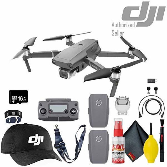 Camara Dji Mavic 2 Pro Drone Flight Batteries 2 Total 16gb ®