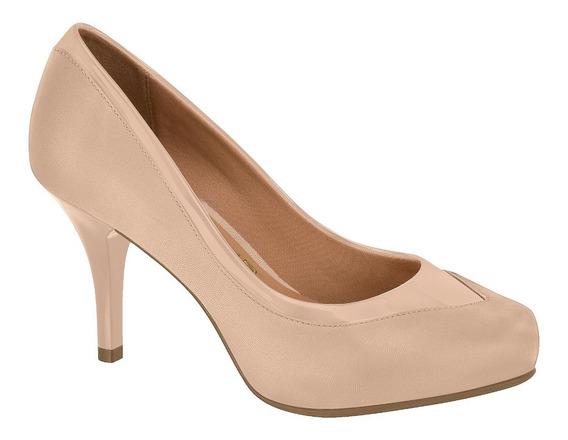 Zapatos -vizzano - Stiletto Beige Napa Y Charol Punta Redond
