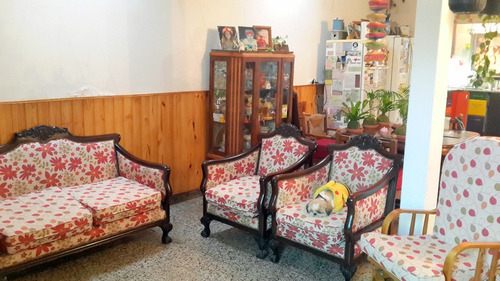 Juego De Living Sillones Chippendale Antiguo Madera Excelent