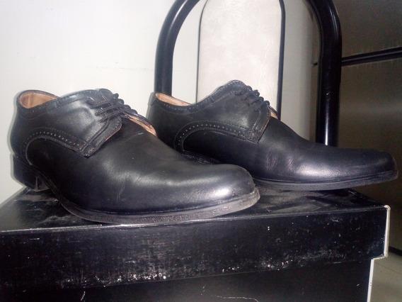 Zapatos De Cuero Hombre Punta Fina