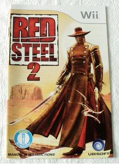 Instructivo En Frances De Red Steel 2 Nintendo Wii