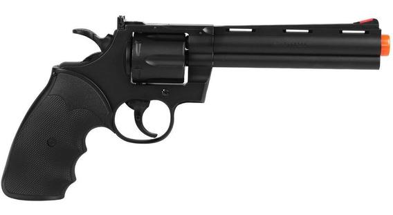 Revólver Uhc Airsoft Python Black Spring Ua-938 B 6mm