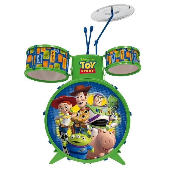 Bateria Musical Infantil - Disney - Toy Story - Toyng
