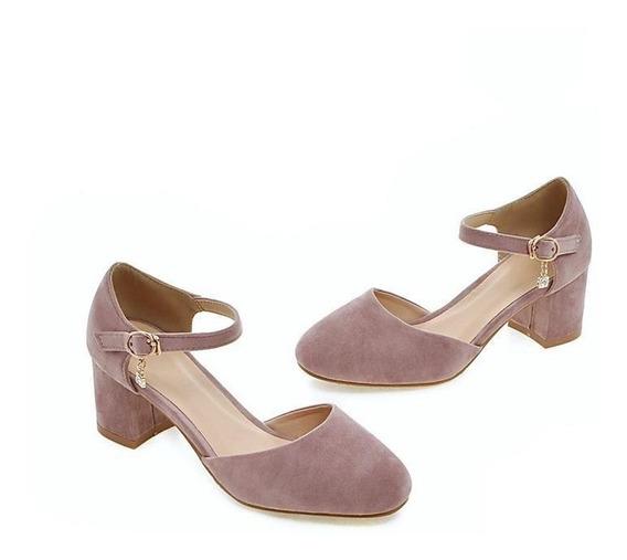 Sapato Feminino Asumer 40295 Importado Frete Grátis