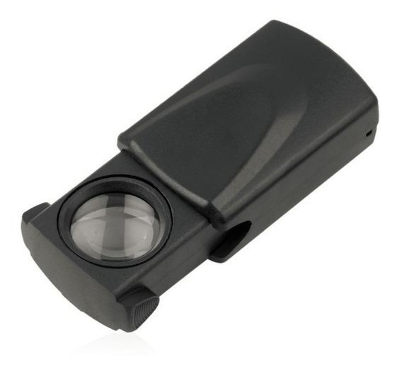 Microscópio De Bolso 30x21mm Preto