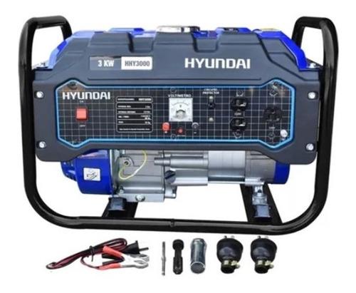 Imagen 1 de 5 de Generador Planta De Luz Hyundai 3000w 110/220v 7.5hp Hhy3000