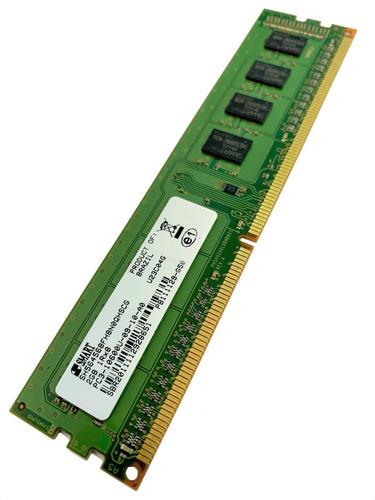 Imagem 1 de 5 de Memória Ram Ddr3 2gb 1333mhz Smart Pc3-10600u Para Desktop