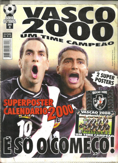 Série Futebol 205 - Vasco 2000 - Um Time Campeão