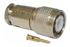 Conector Tnc Macho Reto Para Cabo Rg/rgc-58 Tm-1 Klc