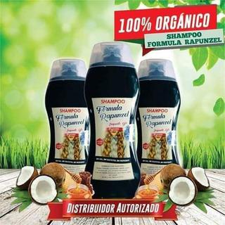 Shampoo Rapunzel Envio Gratis Pack 3 Piezas 100% Organico