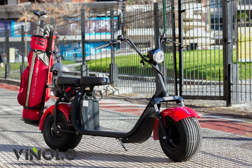 Scooter Electrico Citycoco Golf 2 Baterias + Soporte  /a