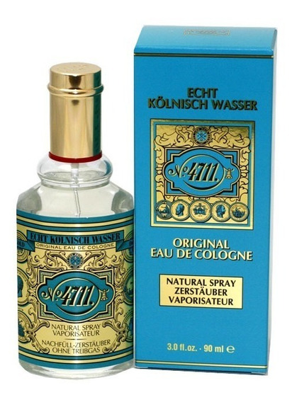 Perfume 4711 Original Eau De Cologne Spray 90 Ml Selo Adipec