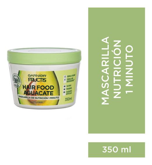 Fructis Hairfood Máscara De Nutrición Cabello Seco 350ml