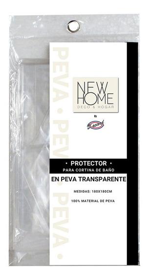 Protector Para Cortina De Baño Peva Transparente (no Pvc)