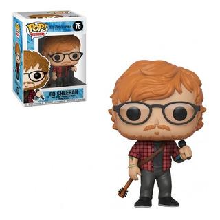 Funko Pop Ed Sheeran 76 Rock Original Edu