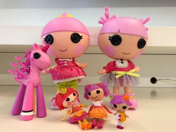 Lote Boneca Mga Lalaloopsy Littles Doll Usadas