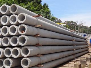 Poste De Concreto Circular 400dan X 11m - Eletropaulo E Edp