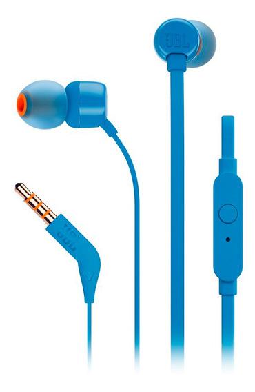 Audifonos Jbl T110 Corder-in-ear Azul
