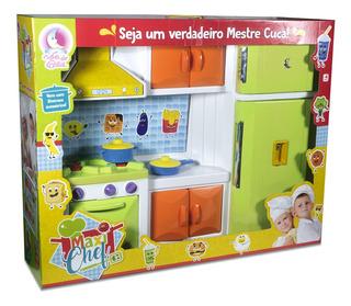 Cozinha Grande Unissex Max Chef Colorido Lua De Cristal