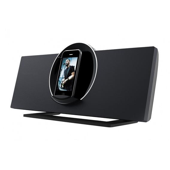 Caixa Acústica Base Rotação 90° iPod E iPhone Coby Csmp175