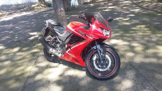Kawasaki Ninja 250r Ed. Especial + Alarme + Pneus Novos