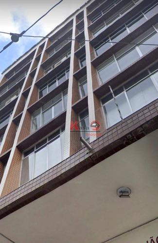 Imagem 1 de 7 de Sala Para Alugar, 487 M² Por R$ 10.000,00 - Centro - Santos/sp - Sa0241