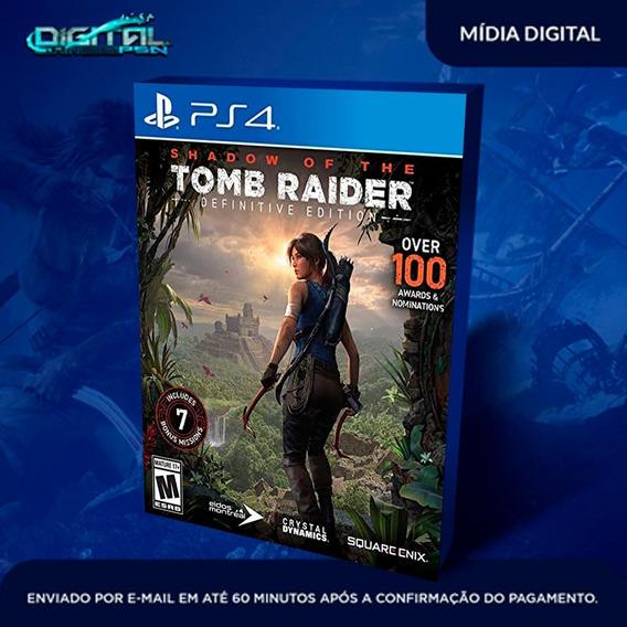 Shadow Of The Tomb Raider Definitive Ps4 Digital Receba Já!