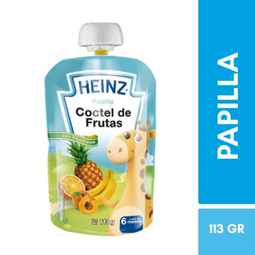 Papilla Coctel De Frutas Doypack 113 G Heinz