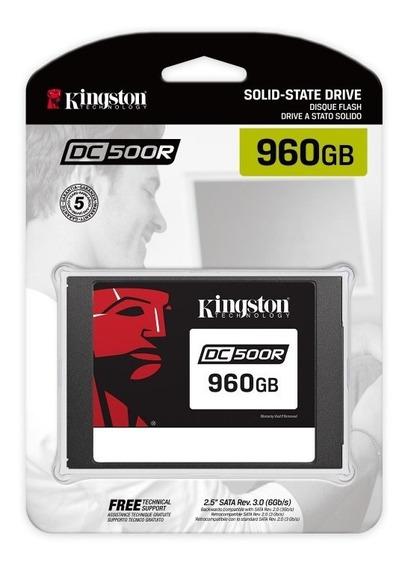 Ssd Servidor Kingston Sedc500r/960g Dc500 960gb Enterprise
