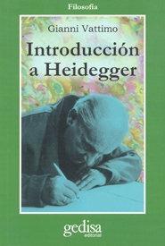 Introduccion A Heidegger - Vattimo Gianni
