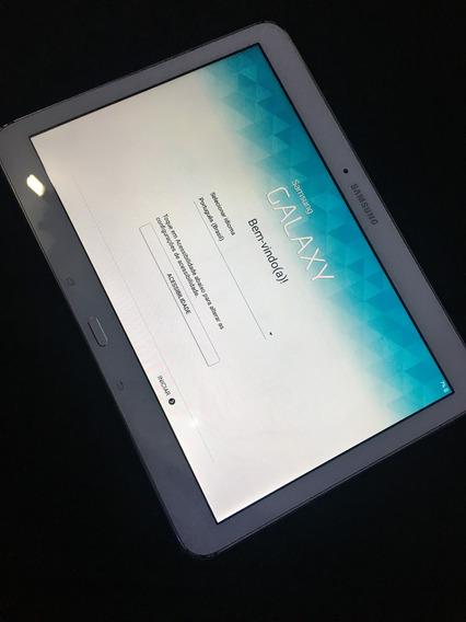 Tablet Samsung Usado Branco - Sm T530