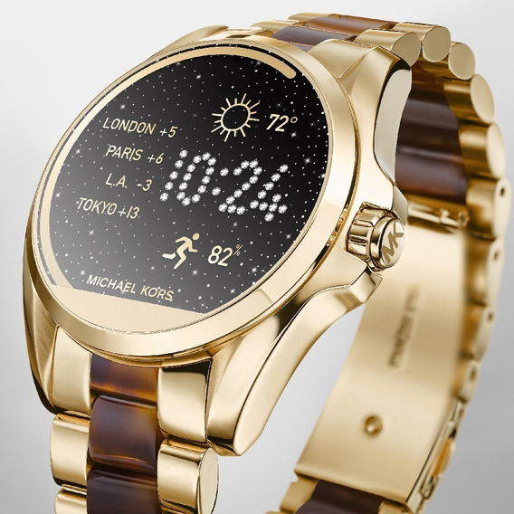 Relogio Michael Kors Mkt5003 Access Touch Digital Dourado
