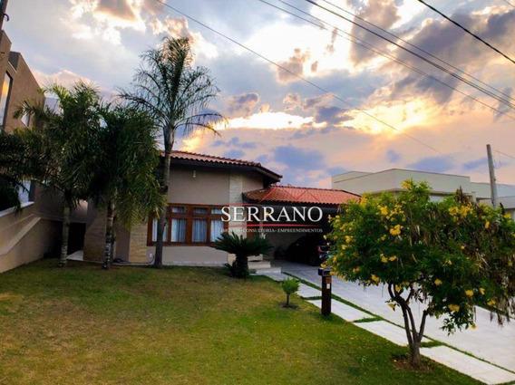 Casa Com 4 Dormitórios À Venda, 280 M² Por R$ 1.370.000,00 - Condomínio Terras De Vinhedo - Vinhedo/sp - Ca0599