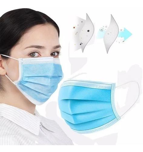 Mascara Descartável Caixa Com 50 Unidades Mercado Envios