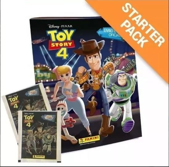 Toy Story 4 - 40 Envelopes (160 Figurinhas + 40 Cards)