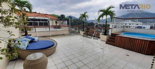 Imagem 1 de 30 de Cobertura À Venda, 180 M² Por R$ 565.000,00 - Praça Seca - Rio De Janeiro/rj - Co0015