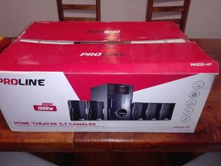 Home Theatre 5.1 Canales Usb Proline Nuevo
