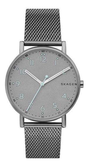 Relógio Skagen Masculino Ref: Skw6354/1cn Slim Titânio