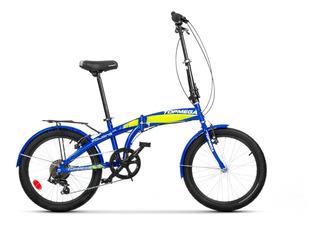 Bicicleta Plegable Folding R20 7v Shimano Topmega