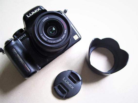 Camera Panasonic Lumix Gh2 Só Corpo