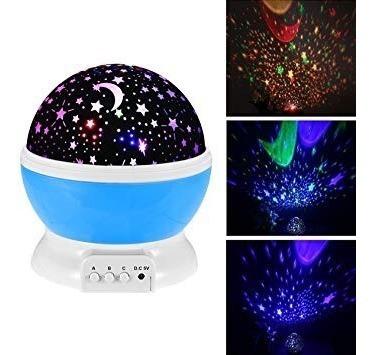 Imagen 1 de 6 de Lampara Led Colores Proyector De Estrellas Star Master
