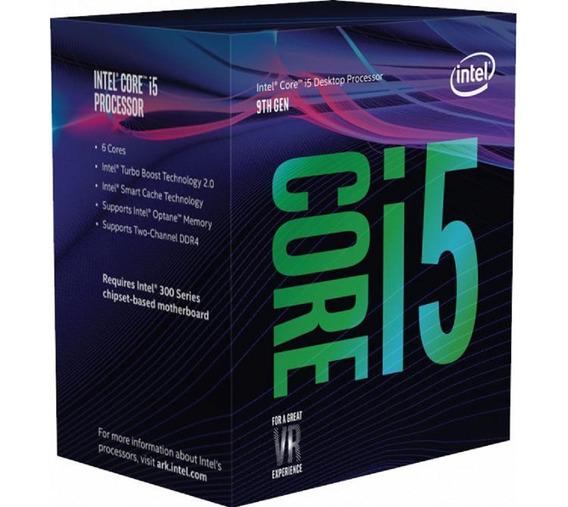 Procesador Intel I5 9400f 9mb Cache 1151 Ddr4 Box Gtia