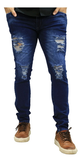 Calça Jeans Masculina Skinny Promoção Menor Preço *82