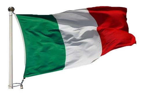 Bandeira Itália 1,50x0,90m Pronta Entrega