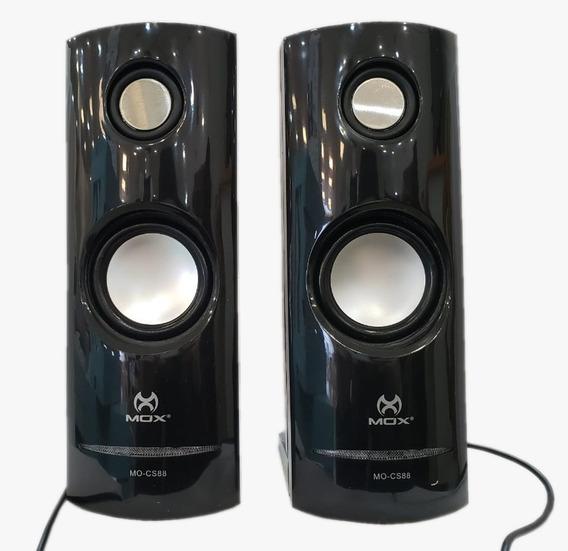 Caixa De Som Para Pc Potente Mox Mo-cs88 2.0